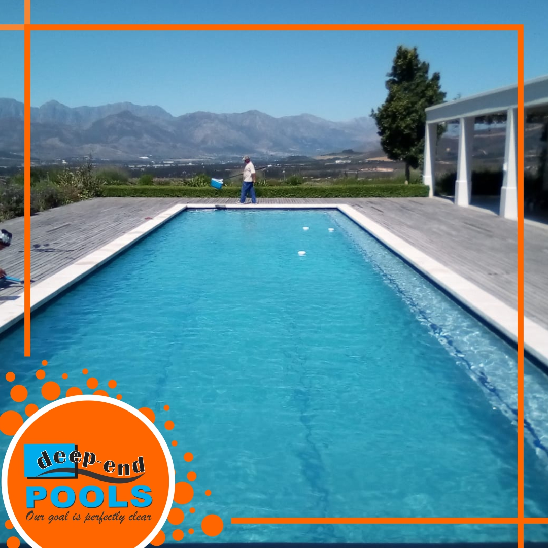 Deep-End Pools servicing and repairing in Franschhoek, Cape Winelands