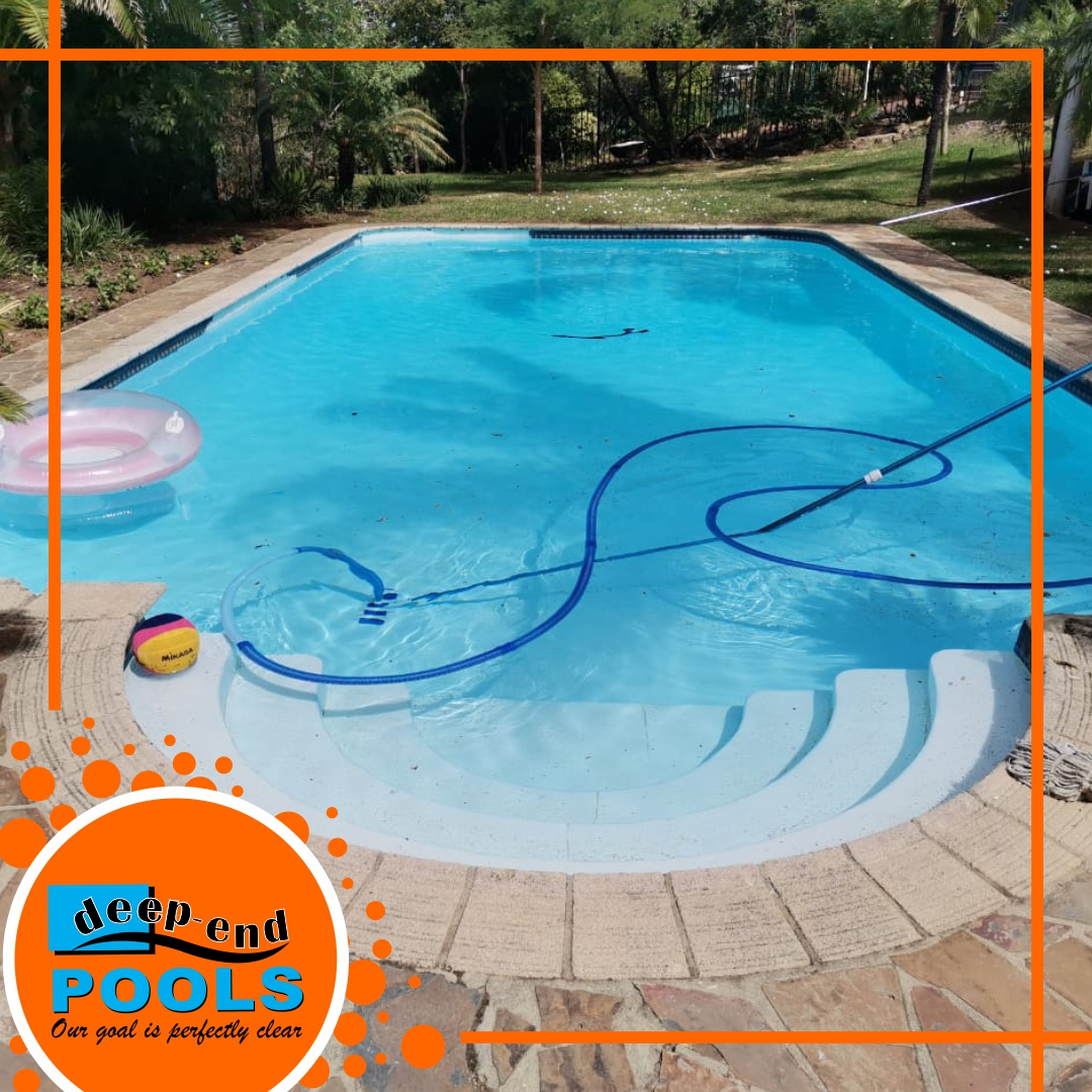Deep-End Pools, perfectly clear pools!