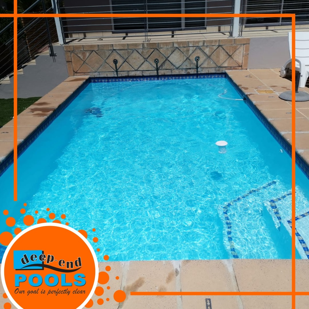 Deep-End Pools is maintaining and servicing pools in Wellington, Cape Winelands
